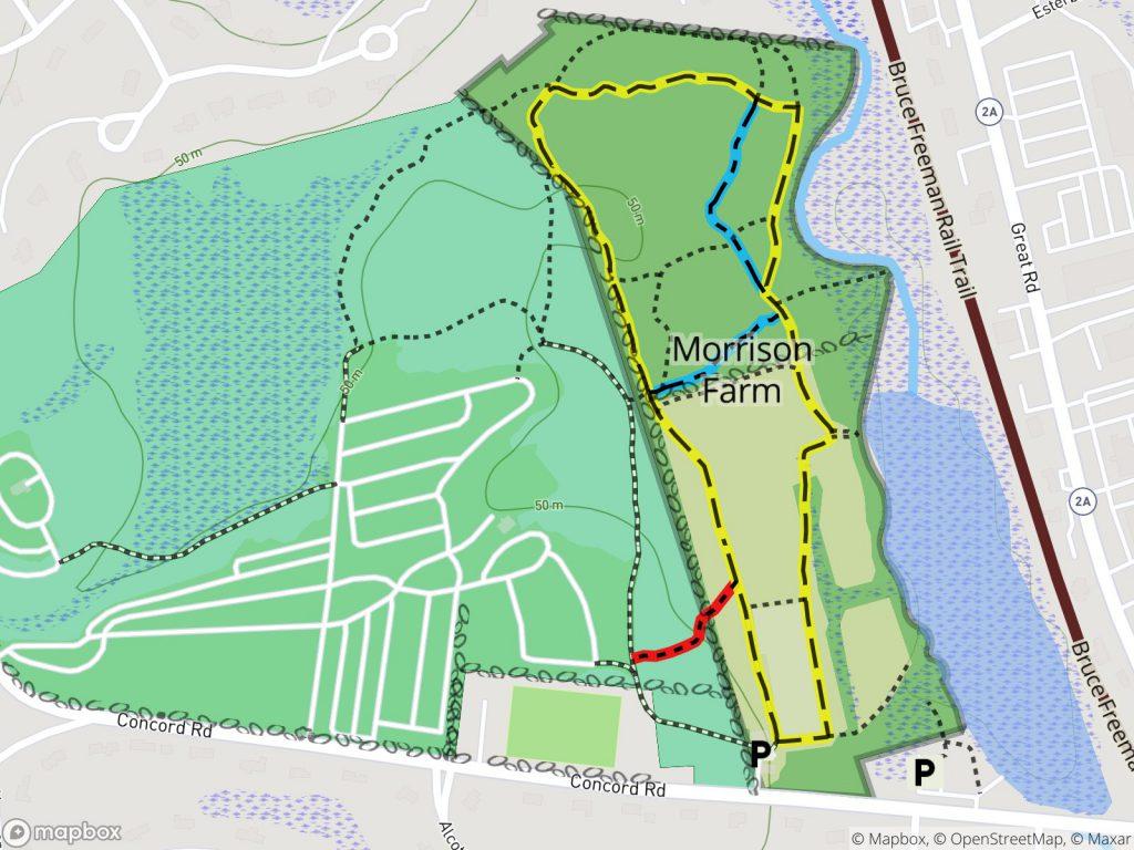 Morrison Farm Trail Map